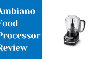 Ambiano Food Processor Review