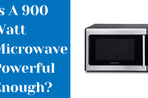 is a 900 watt microwave powerful enough