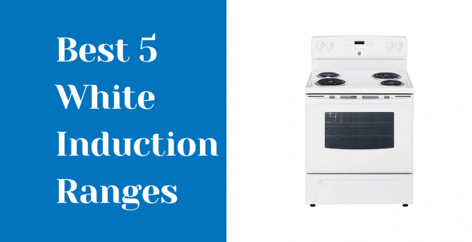 white induction ranges
