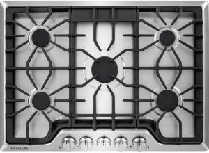 Gas Stove With Knobs On The Top